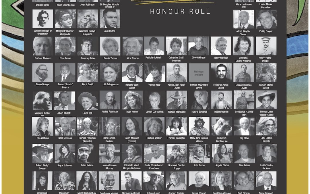Nominations for the 2020 Victorian Aboriginal Honour Roll are now open
